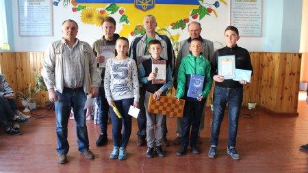 Четвертий етап кубка Сарненського району з шахів